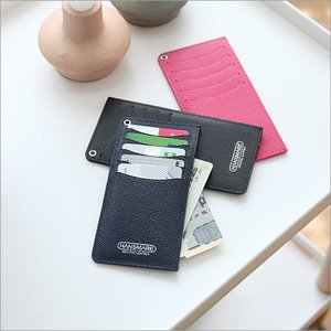 カードケース 本革 レディース メンズ インナーカード 薄型  [HANSMARE SECOND WALLET]  おしゃれ ポイントカード 紙幣 クーポン パスケース ゆうパケット|vaniastore