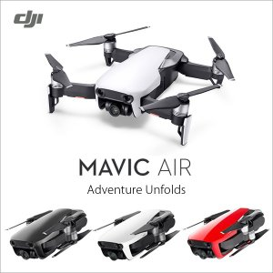 DJI MAVIC Air マヴィックエア ドローン 小型 カメラ付き 32GBカード付 初年度賠償...
