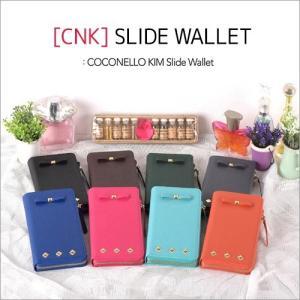 多機種対応 スマホケース CNK Slide Wallet マルチケース 4.2 / 4.7 / 5.5 シリーズ 財布 手帳型 カード収納  お札 ゆうパケット|vaniastore