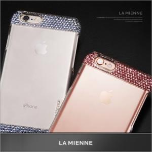 スマホケース iPhone 6s / 6 Lamienne & Ino Wing case スワロフスキークリスタル シンプル フィット プレミアム クリアー キラキラ 定形外郵便 vaniastore