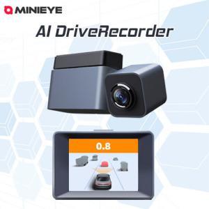 MINIEYE ドライブレコーダー AI搭載 安全装置付き 衝突予防システム 運転支援 あおり運転対策 WiFi スマホ連動 リアルタイム対応 カー用品 ガジェット 宅急便|vaniastore
