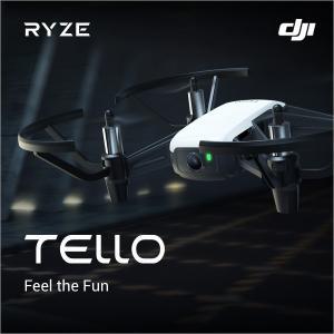 DJI RYZE Tello ドローン カメラ付き 小型 ラジコン テロ DJI 85g  損害賠償保険付き 国内正規品 子供 プレゼント 飛行時間13分 スマホ HDカメラ 宅配便|vaniastore