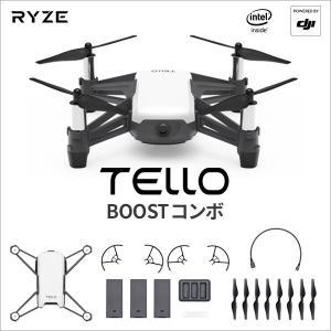 DJI RYZE Telloコンボ カメラ付き ドローン 小型 Tello Boost COMBO ...