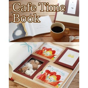 ノンカフェインドリップ コーヒーと絵本のセット(Cafe Time Book ) 専用BOX付き バニラ・カフェ|vanilla-cafe