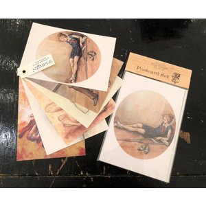 鳥居椿/ポストカードセット|vanilla-gallery