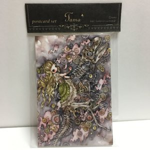たま/ポストカード4枚セットD|vanilla-gallery