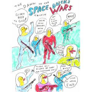 ダニエル・ジョンストン   ポスター(SPACE DUCKS WARS)|vanilla-gallery