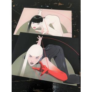クレッグ・ドレーク/イラストカード vanilla-gallery