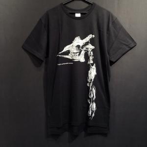 骨格Tシャツ/キリンの頭骨と頸椎|vanilla-gallery