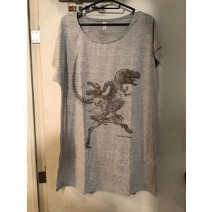 骨格Tシャツ/ゴルゴサウルス(レディース)|vanilla-gallery