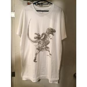 骨格Tシャツ/ゴルゴサウルス(メンズ)|vanilla-gallery