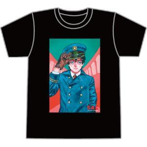 カネオヤサチコSACHIKO KANEOYA/よいこのTシャツ(2)革手袋の車掌|vanilla-gallery