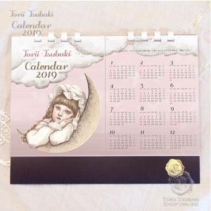 鳥居椿/カレンダー2019|vanilla-gallery