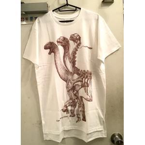 骨格Tシャツ/カマラサウルス(メンズ)|vanilla-gallery