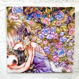 たま ハンカチタオル(The promise kept) vanilla-gallery