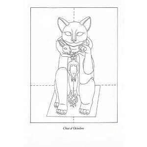ヴィルジニア・テンティンド「Chat d'octobre(10月の猫)」_|vanilla-gallery