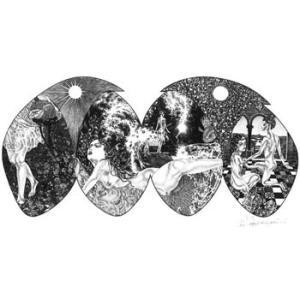 宮西計三 作品番号M-2「世界」|vanilla-gallery