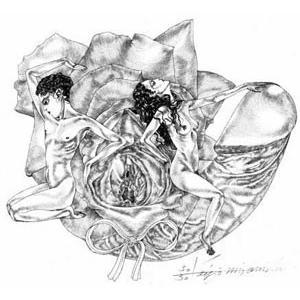宮西計三 作品番号M-3「薔裸」|vanilla-gallery