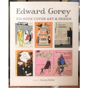 エドワード・ゴーリー/Gorey His Book Cover Art & Design [洋書]|vanilla-gallery