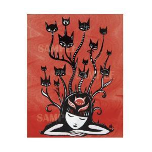 エミリー・ザ・ストレンジ プリント作品『Grow Your Dreams』★サイン入り★|vanilla-gallery