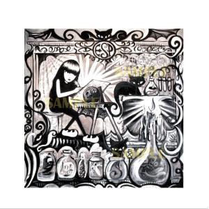 エミリー・ザ・ストレンジ プリント作品『Emily Labratory』★サイン入り★|vanilla-gallery