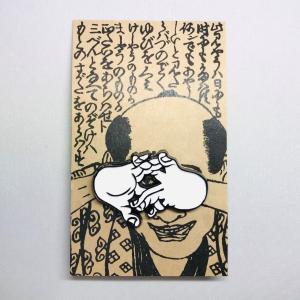 マルアン商会 狐の窓バッジ|vanilla-gallery