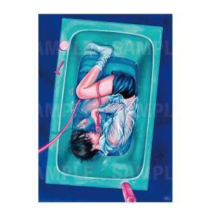 カネオヤサチコ プリント作品「水槽」★受注生産★|vanilla-gallery