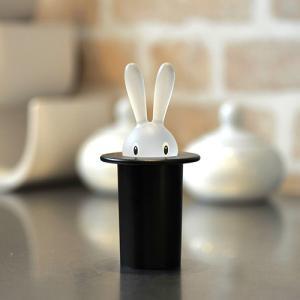 MAGIC BUNNY・爪楊枝入れ(ブラック)|vanilladesign