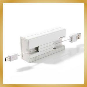 アマダナ マルチ充電ケーブル ホワイト 各種モバイル対応※|vanilladesign