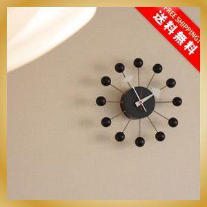 壁掛け おしゃれ時計  デザイナーズ ジョージ・ネルソン インテリアクロック ミッドセンチュリー カフェ|vanilladesign