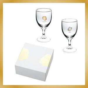 ワイングラス・ペアグラス クラシカル カフェ|vanilladesign