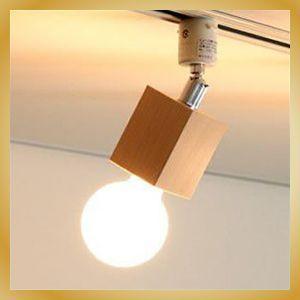 照明 おしゃれ SquareWood-spot スポットライト プラグタイプ照明 ナチュラル カフェ 北欧|vanilladesign