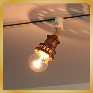 Antico-CLEAR スポットライト ゴールド|vanilladesign