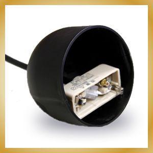 ペンダントライト用 シーリングカバー 径75mm ブラック|vanilladesign