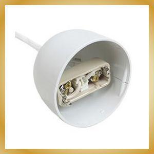 ペンダントライト用 シーリングカバー 径75mm ホワイト|vanilladesign