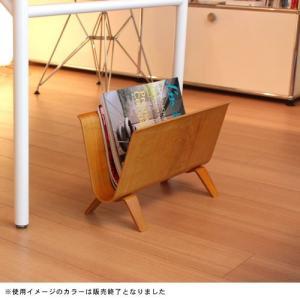 magazine rack ホワイトオーク 北欧 カフェ おしゃれ|vanilladesign|02