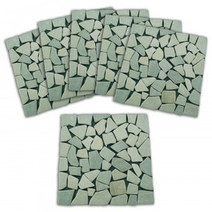 雑草が生えないおしゃれな天然石マット6枚組の商品画像
