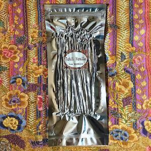 ☆『バニラビーンズ(タヒチタイプ)』インドネシア産 100g☆|vanillashop