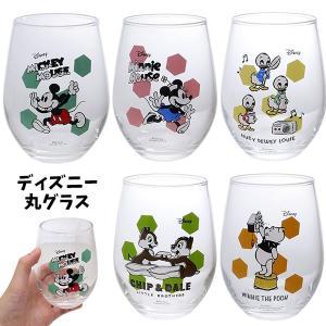 ■商品説明 ディズニーキャラクターたちのかわいいしずく型の丸グラスです★ 涼しげなデザインは夏にぴっ...