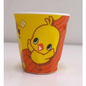 チキンラーメンメラミンカップ 500  チキン ラーメン コップ カップ 黄 通販|vanitystudioremix|03