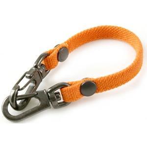 帆布のバッグ用ストラップ-A(オレンジ)< キーホルダー アクセサリー 手提げ >|vannuyswebshop