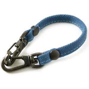 帆布のバッグ用ストラップ-A(ブルー)< キーホルダー アクセサリー 手提げ > vannuyswebshop