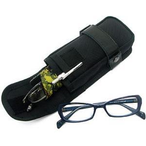 C1-S用メガネケース-A/SNAP(バリスティックナイロン製/ブラック)< オプション 小物ケース ポーチ サブポケット 眼鏡 サングラス >|vannuyswebshop