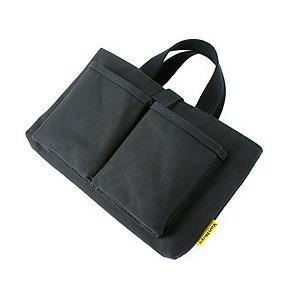 帆布 の 薄型 PC トート バッグ /Type-A(出し入れしやすい トートバッグ タイプ)<ブラック>【 バンナイズ / VanNuys 】|vannuyswebshop
