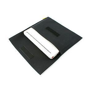 帆布 の フラット PCケース /Type-C<ブラック>【バンナイズ/VanNuys】|vannuyswebshop