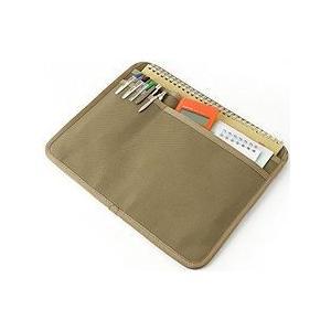 バッグインポケット/B5サイズ用<6号帆布パラフィン加工/シャドウベージュ>【バンナイズ/VanNuys】|vannuyswebshop