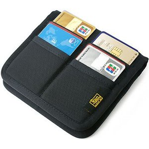 折り畳み Bag in カードケース /バリスティック ナイロン < 名刺 クレジットカード カードホルダー > vannuyswebshop