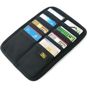 フラット Bag in カードケース /裏表縦横収納タイプ/バリスティック ナイロン < 名刺 クレジットカード カードホルダー > vannuyswebshop