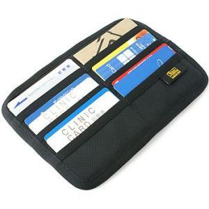 フラット Bag in カードケース /裏表横型収納タイプ/バリスティック ナイロン < 名刺 クレジットカード カードホルダー > vannuyswebshop