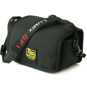 LUMIX ( ルミックス ) GF1用/キャリングケ−ス/横型/帆布のバッグ用ストラップ付き(バリスティックナイロン製)【バンナイズ/VanNuys】|vannuyswebshop